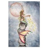 Star Mermaid Wall Art