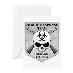 Zombie Response Team: Newark Division Greeting Car