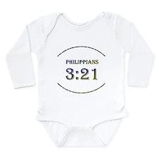 Down Syndrome Long Sleeve Infant Bodysuit