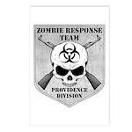 Zombie Response Team: Providence Division Postcard