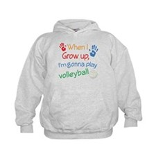 Future Volleyball Player Hoodie