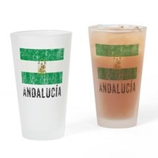 Vintage Andalusia Drinking Glass