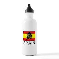 Spain Running Of The Bulls Water Bottle