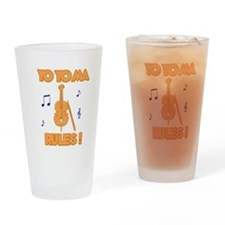 The West Wing Yo Yo Ma Drinking Glass