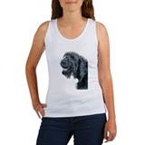 Smiling Labradoodle Women's Tank Top