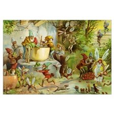 Gnomes, Elves & Forest Fairies Wall Art