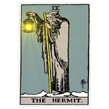 Hermit Tarot Wall Art