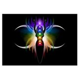 Chakra Goddess Wall Art