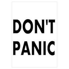 Don't Panic Wall Art