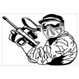 Paintball Wall Art