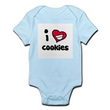 I Love Cookies Infant Creeper