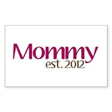 New Mommy 2012 Decal