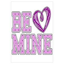 Be Mine Heart Wall Art