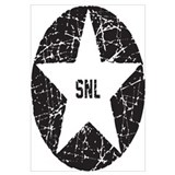 SNL Black Star Wall Art
