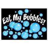 Eat My Bubbles Wall Art