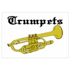 Joe's Trumpets Wall Art