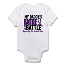 My Battle Too Pancreatic Cancer Onesie