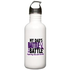 My Battle Too Pancreatic Cancer Water Bottle