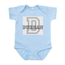 Letter D: Durban Infant Creeper