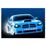 Charger Drift Wall Art