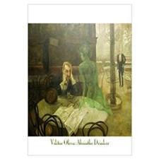 Absinthe Drinker Wall Art