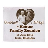 2012 Kenter Reunion Throw Blanket