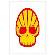 Shell Skull Wall Art