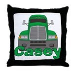 Trucker Casey Throw Pillow