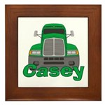 Trucker Casey Framed Tile