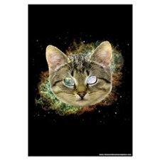 Space Cat Wall Art