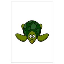 Cartoon Turtle Wall Art