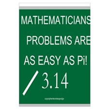 Mathematicians Problems are a Wall Art