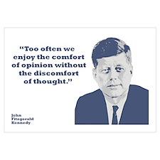 Kennedy - Opinion Wall Art