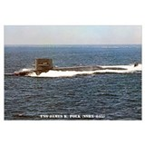 USS JAMES K. POLK Wall Art