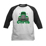 Trucker Chris Kids Baseball Jersey