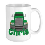 Trucker Chris Large Mug