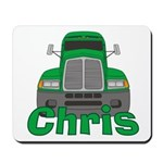 Trucker Chris Mousepad