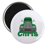 Trucker Chris Magnet