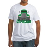 Trucker Christian Fitted T-Shirt