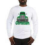 Trucker Christian Long Sleeve T-Shirt