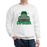 Trucker Christian Sweatshirt