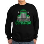 Trucker Christian Sweatshirt (dark)