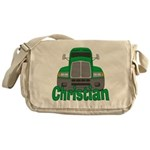 Trucker Christian Messenger Bag