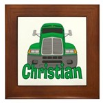 Trucker Christian Framed Tile