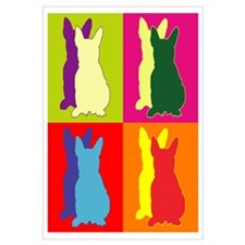 French Bulldog Silhouette Pop Art Wall Art