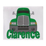 Trucker Clarence Throw Blanket