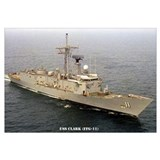 USS CLARK Wall Art