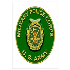 US Army Military Police Corps Wall Art