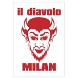 DIAVOLO MILAN Wall Art