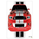 New Mustang GTR Wall Art